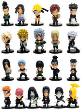 Anime Set 21 Naruto Shippuden Toy Figure Figurine Doll New