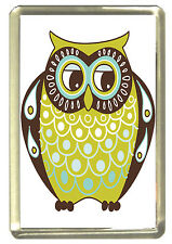 Owl Dad Fridge Magnet - Wildlife