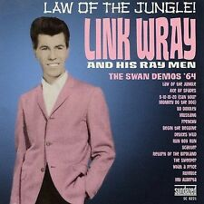 Link Wray Law Of The Jungle 64 Swan Demos coloured vinyl LP NEW sealed