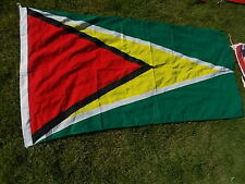 "GUYANA South America American Vintage National Country Cloth Flag 69""x33"" VGC"