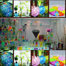 Crystal Soil Beads Mud Water Jelly Gel Ball Wedding Flower Decorations 450PC/10G
