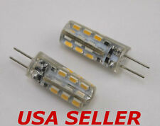 Lot of 12 - G4 / MR11 / MR16 1.5W 12V  Warm White LED Light Bulbs for Malibu
