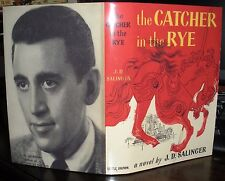 J D Salinger Catcher In The Rye 1951 HC DJ American 1st BCE Salinger photo