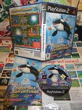Playstation 2 PS2:Shamu's Deep Sea Adventures [TOP & 1ERE EDITION] COMPLET - Fr