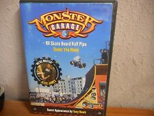 Monster Garage - RV Skate Board Half Pipe & Under the Hood (DVD, 2003) Used