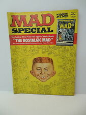 MAD Magazine Special #9 Comic Book First Issue #1  Insert Usual Gang Of Idiots