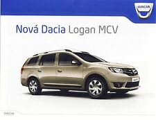 Dacia Logan MCV 2013 catalogue brochure rare