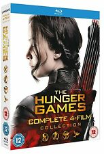 THE HUNGER GAMES COMPLETE COLLECTION BLU RAY BOX SET NEW PRE ORDER 1-4