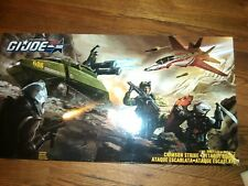 GI Joe 50th SDCC Crimson Strike Cobra Scythe Sky Striker Chimera HISS MISB Flint