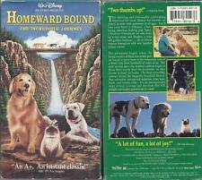 Homeward Bound: The Incredible Journey (VHS)