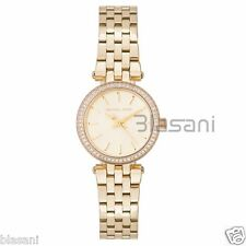 Michael Kors Original MK3295 Women's Petite Darci Gold Tone Stainless Ste Watch