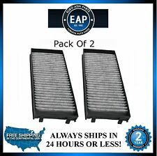 For 2007-2015 X5 2008-2015 X6 Cabin Air Filter (Pack Of 2)  New