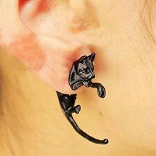 Unique Leopard Cat Women Men Unisex Ear Stud Earrings Piercing Jewelry