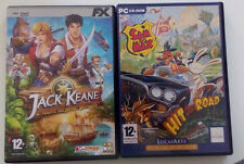 2 giochi PC Computer: Sam & Max Hit the Road e Jack Keane
