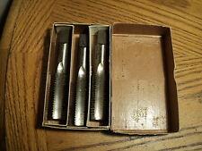 """Bendix Besly 4111 Straight Flute Tap Tools No. 13155 7/8"""" 9  1 Box ( 3 Taps) NIB"""
