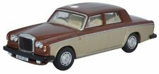Oxford 76BT2002 Bentley T2 Saloon Nutmeg Silver sand 1/76 scal 00 Gauge New Case
