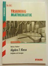 STARK Training Grundwissen Mathematik Gymnasium Algebra 7 Klasse mit Lösungen