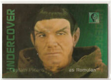 30 Years of Star Trek Phase 2 Undercover Personnel Card L3 Picard as Romulan