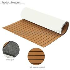 Self Adhesive EVA Foam Teak Sheet Boat Yacht Synthetic Decking 35'' X 91'' 6MM