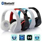 Wireless Bluetooth Stereo Headset Earphone Headphone Foldable for iPhone Samsung