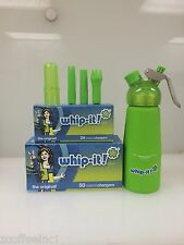 600 Whipped Cream Chargers Nitrous Oxide N2O WHIP-IT Best Quality COMBO GREEN