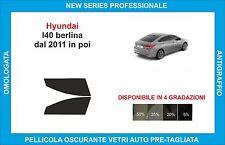 pellicole oscuranti vetri hyundai I40 berlina dal 2011  kit anteriore