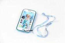 Kids Toy Mobile phone Smartphone Learning device Music Song, Disney Frozen elsa