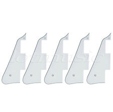 5pcs Lefty White Guitar Pickguard Scratch Plate For Gibson Les Paul replacement