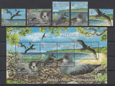 Pitcairn Islands - Michel-Nr. 664-668 + Block 37 postfrisch/** (Vögel / Birds)