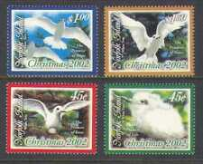 Norfolk Island 2002 Christmas/Greetings/Tern/Birds/Gulls/Nature 4v set (n21052)