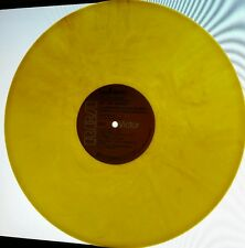 DAVID BOWIE ZIGGY STARDUST & THE SPIDERS FROM MARS YELLOW MARBLED COLORED VINYL