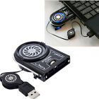 Mini Vacuum Air Extracting USB Case Cooler Cooling Fan Idea for Notebook Laptop