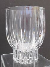MIKASA Crystal Algonquin Double Old Fashioned 12 oz Leaded Crystal Bar Ware