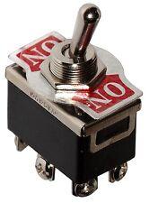 Interrupteur commutateur à levier DPDT ON-ON 10A/250V 2 positions