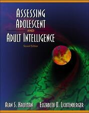 Assessing Adolescent and Adult Intelligence (2nd Edition)