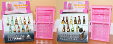 NEW Gloria DOLLHOUSE FURNITURE Wine Rack A+B PLAYSET (96012)
