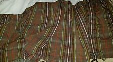 NEW RALPH LAUREN Rock River Plaid FULL  BEDSKIRT