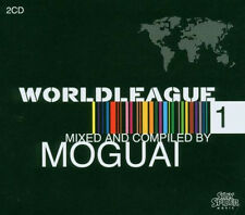 Moguai = world Leaque vol 1 = 2cd = techno electro tech house minimale sons!!!