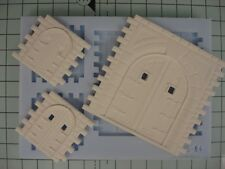 Linka Compatible NEW NS04 Stone Faced Mould GOTHIC CASTLE DOORS. Wargaming