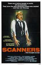 Scanners Poster 01 A3 Box Canvas Print