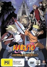 Naruto the Movie 2: Legend of the Stone of Gelel DVD NEW