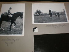 Old amateur photographs showjumper Andrew Fielder Otley Show 1971