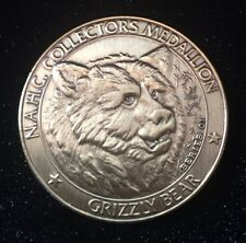 "North American Hunting Club Big Game Collector's Coin-Series 1 ""Grizzly Bear"""