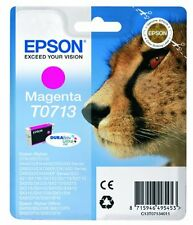 Epson T0713 Magenta Ink Cartridge for Stylus SX515w SX510w SX210 SX215