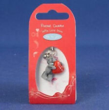 Me To You Tatty Teddy Collectors Phone Charm - Red Love Heart # 0651