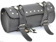 MOTORCYCLE MOTORBIKE GENUINE LEATHER TOOL ROLL SADDLE BAG TR2