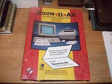 "Know It All Flashcard Creation System Ver 2.3 - 3.5"" Program Disk User Manual"