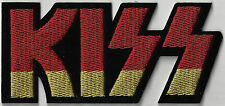KISS - LOGO - IRON ON or SEW ON PATCH
