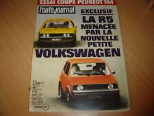 AJ N°19 1973 Peugeot 104 Coupé.VW K 70 LS.