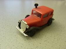 Brekina Frw. Feuerwehr Friedrichhafen Opel P4 aus Sammlung Vitrinenmodell